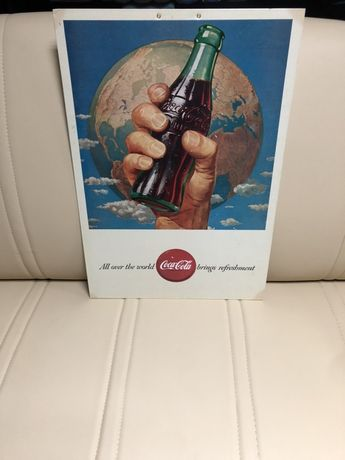 Coca cola. Publicitário.