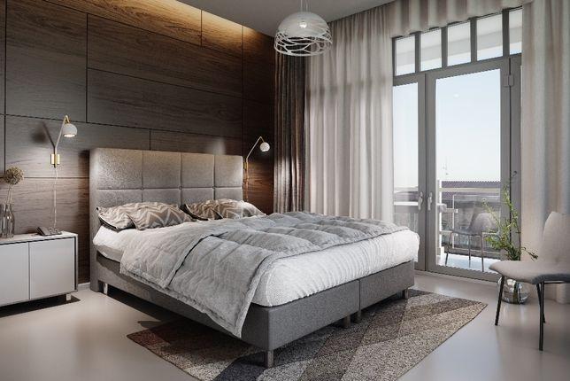 Łóżko hotelowe VENUS 160X200 + MATERAC tapicerowane PRODUCENT