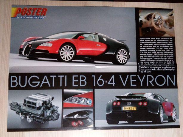 Plakat Poster Bugatti EB 16.4 Veyron 40,5cm x 54,5cm Auto Super Cars