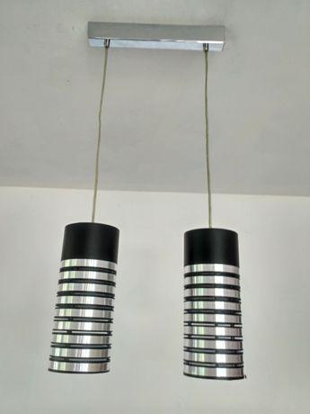 Lampa nowoczesna ITALUX- chrom/czarny