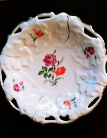 Patera ponad 100-letnia sygn. ROYAL IVORY KPM AD.1831 M.Porcelana