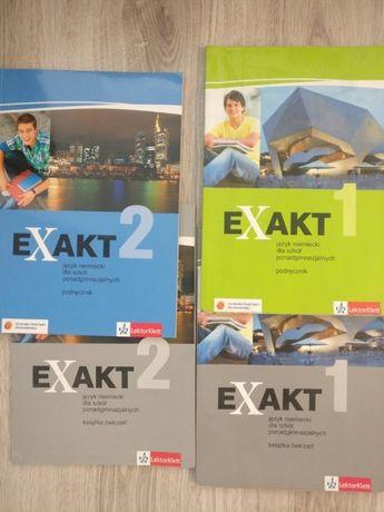 EXAKT 1+2 podręczniki i ćwiczenia