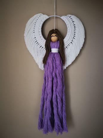 Makrama anioł stróż. Prezent