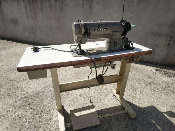 Máquina de costura de peles Seiko trifásica