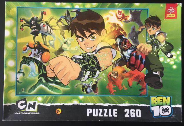 Puzzle Ben 10 - 260 elementów (Trefl) + gratis
