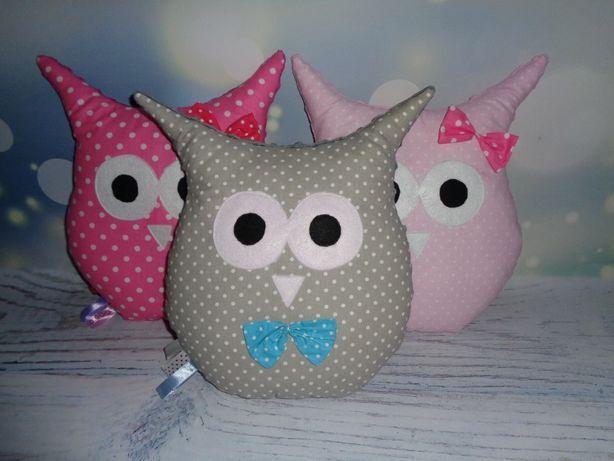 Sowa przytulanka Sówka Owl Minky poduszeczka
