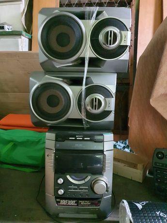 Wieża HI-FI Sony MHC-BX5 2x100W RMS Bardzo mocna + Głośniki
