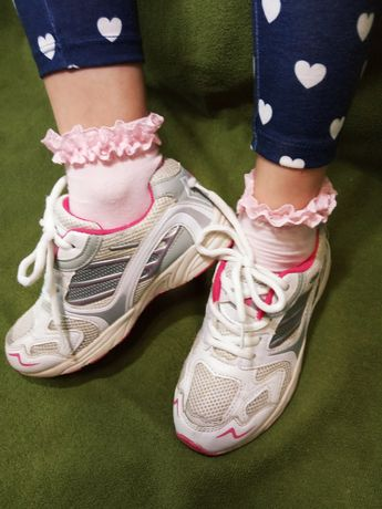 Кроссовки 32-33 размер UK 13 детские кеды туфли для девочки