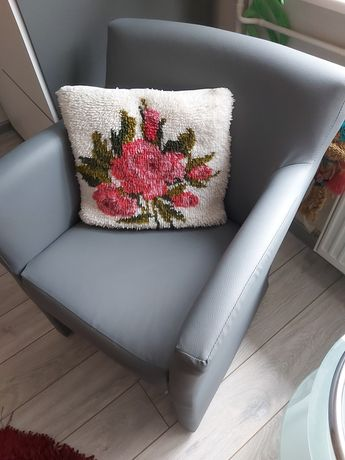 Agata meble szare fotele nowe