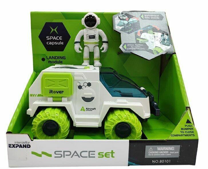 Ігрова космічна машинка, місяцехід, ракета з космонавтом Львов - изображение 1