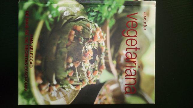 Lote livros receitas e culinária