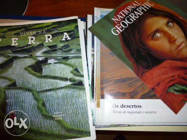 30 fascículos Nacional Geographic coleção completa 2 volumes
