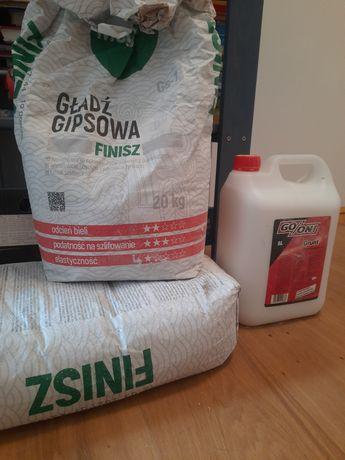 Finisz megaron gładź gipsowa 20+10kg+grunt