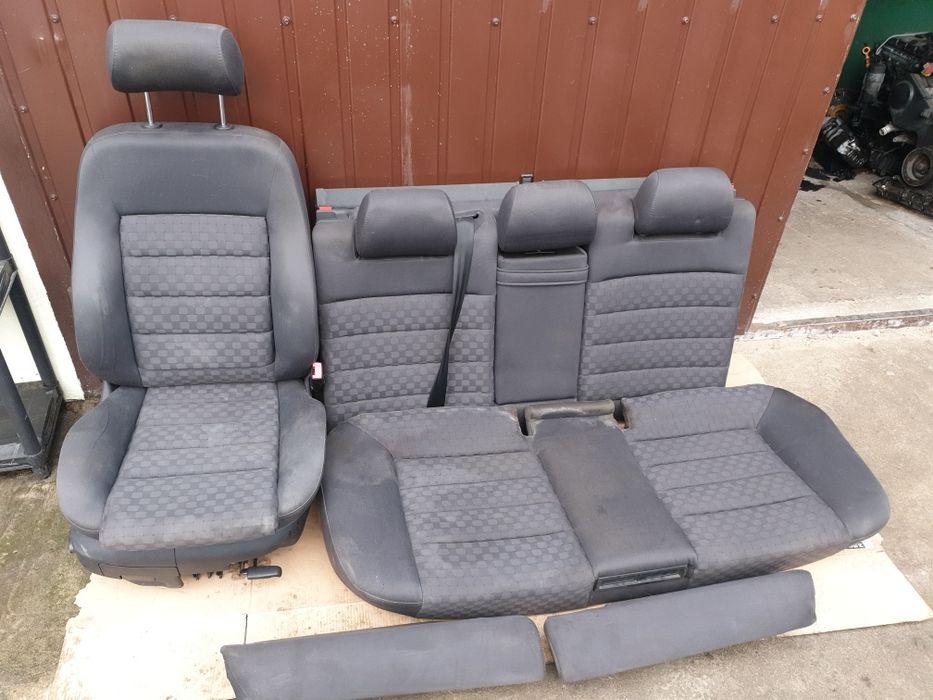 Fotel pasażera + kanapa + boczki Audi A6C5 kombi lift Łosice - image 1
