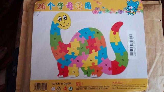 Puzzle didáctico para crianças