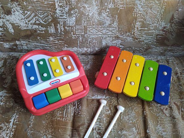 Ксилофон, музыкальный инструмент пианино