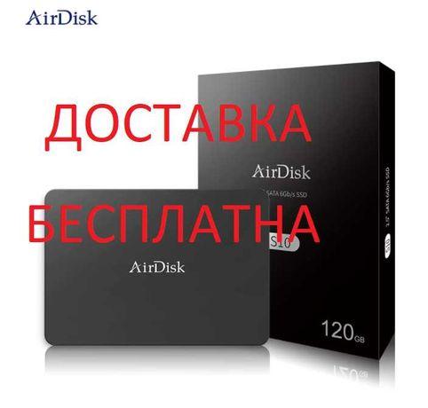 НОВЫЙ ССД ДИСК SATA 3 2.5 120 GB для ноутбука и пк ssd накопитель