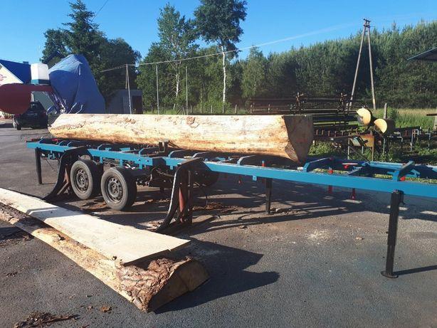 Trak mobilny; Tartak przewoźny; Usługi -przecieranie drewna u klienta