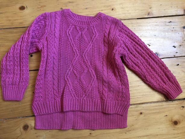 Вязаний свитер кофта hm zara next 92-98