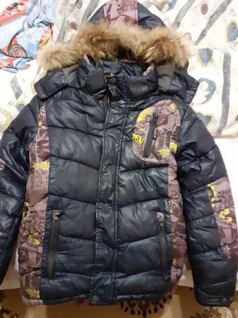 Курточка ЗИМНЯЯ рост 140 см