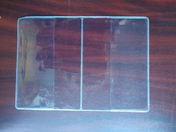 Прозрачные обложки для паспорта