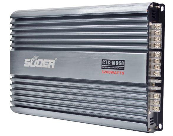 Автомобильный усилитель звука TP-M668, 4 х 150W