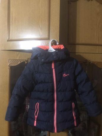 Куртка (осень-квро зима)на девочку 2 года 86-92