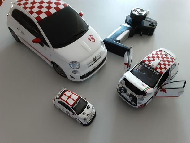 Carros de colecção da marca abarth