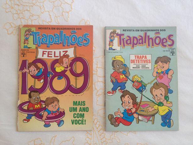 Revistas em Quadradinhos Os Trapalhões Vintage