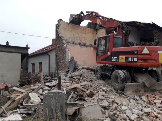 Usługi wyburzeniowe , rozbiórki budynkòw, wyburzenia Śląskie