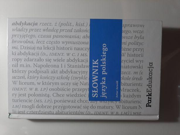 Słownik języka polskiego Artur Arnold