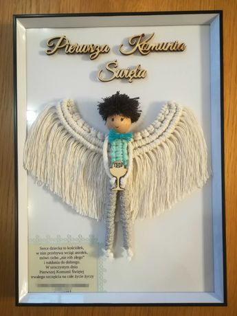Anioł na Chrzest Święty, Komunię Świętą