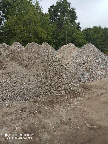 piach żwir ziemia gruz kruszony destrukt tłuczeń Łochów Tłuszcz Wyszkó