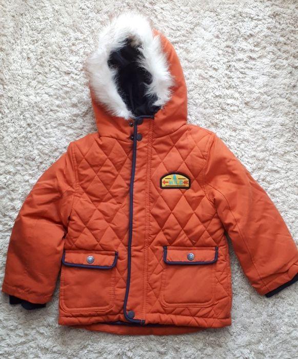 Новая детская деми курточка 98см (2-3г) унисекс оранжевая Винница - изображение 1