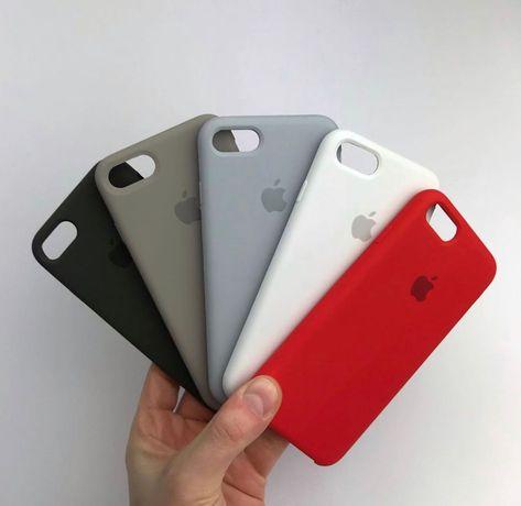 Силиконовый чехол на айфон Iphone 5 7 8 12 XR MAX 11 PLUS Xs pro SE 6