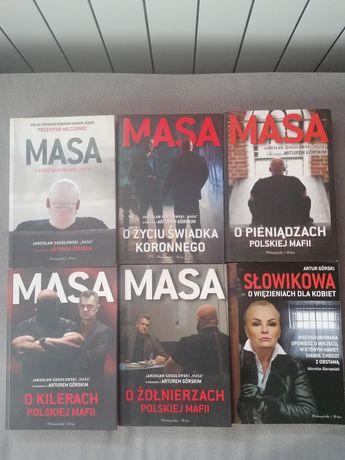 Seria książek Masa o