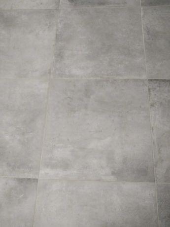 Płytki glazura,terakota szare 60/60 cm