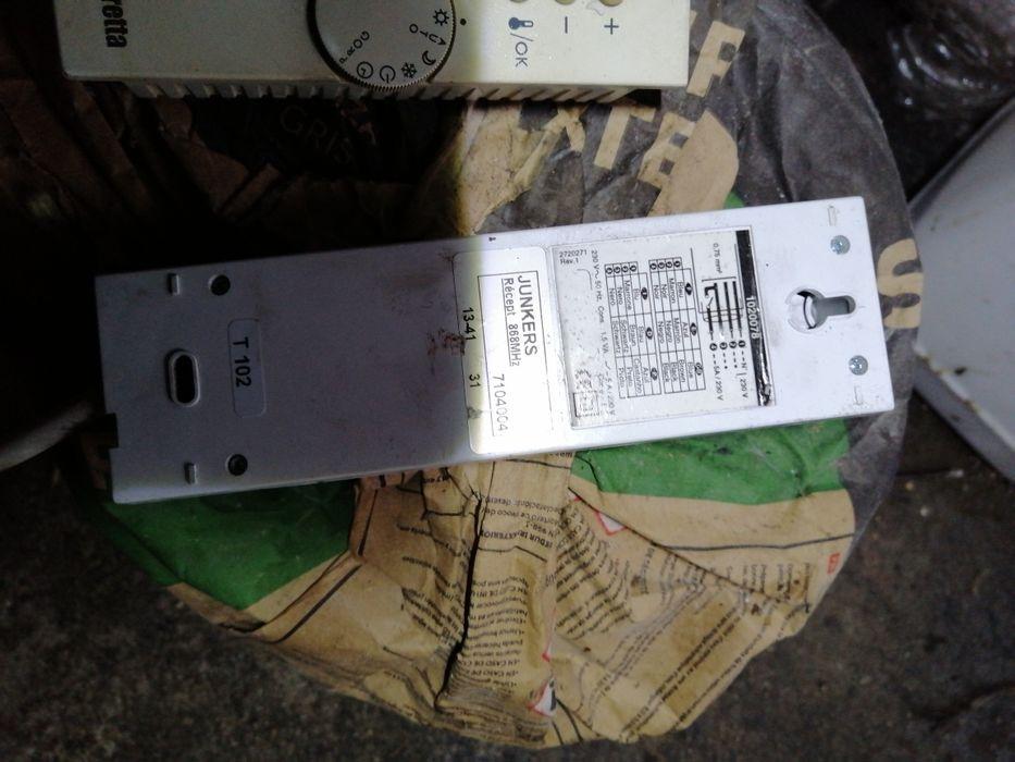 Termostato controlador de temperatura sem fios com emissor e receptor Pombal - imagem 1
