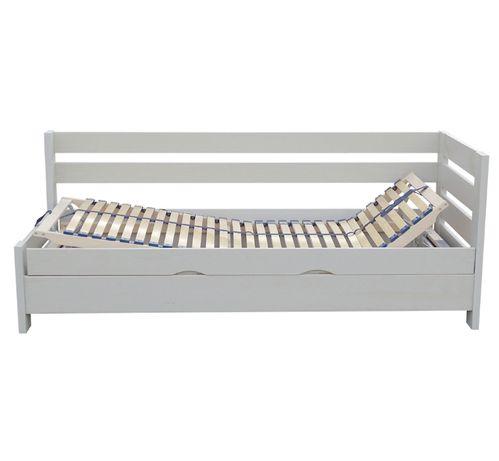 łóżko otwierane z regulowanym zagłówkiem i podnóżkiem ENTER 90x190