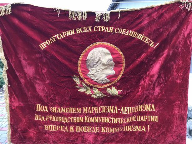 Флаг, знамя, бархат