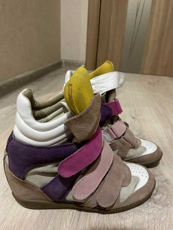 обувь женская натуральный замш