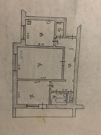 Продается двухкомнатная квартира м-н Химик