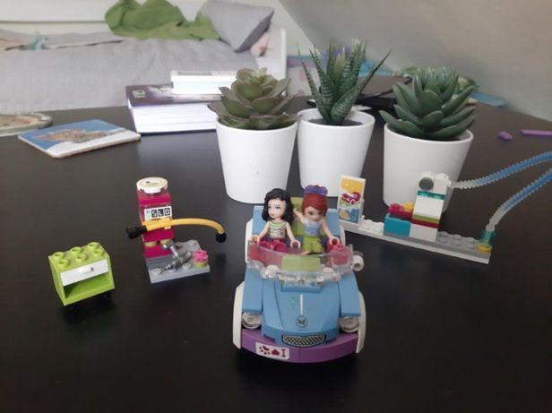 Lego friends - stacja benzynowa z autem i 2 lalki + film Lego Friends