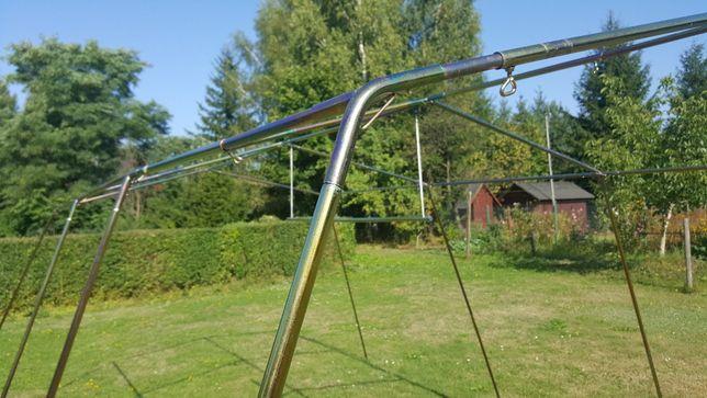Stelaż stalowy 20x1mm namiotu Lilia/Rezeda produkcji ZKT Lubawa