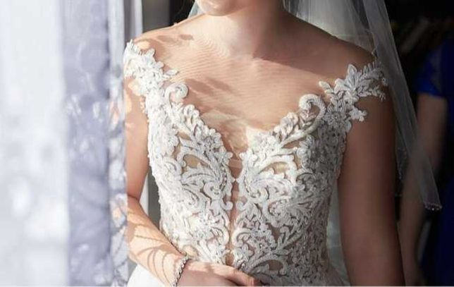 Sprzedam suknię ślubną plus dodatki