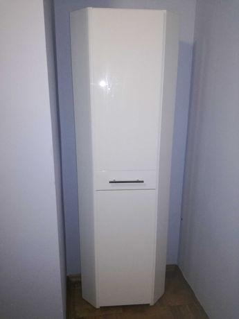 Narożna szafka łazienkowa, lakierowana, wysoka!