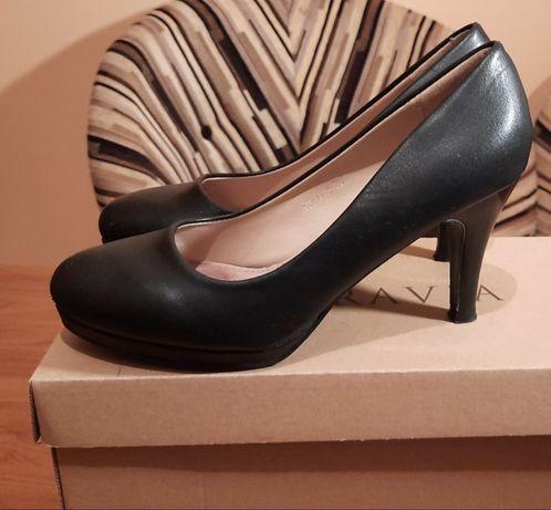 Buty czarne szpilki rozmiar 39