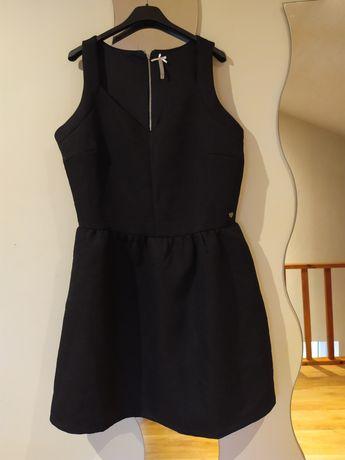Sukienka święta andrzejki XL mała czarna