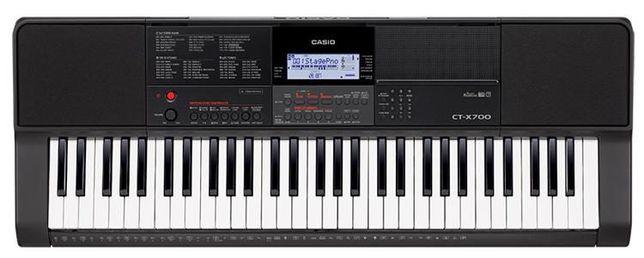 Nowy keyboard Casio CT-X700 + 5 lat gwarancji BRATPOL TORUŃ