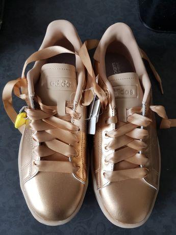 ADVANTAGE BOLD SHOES złote 38 2/3 ,39 nowe sneakersy